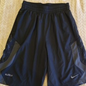 Lebron James Nike Dri Fit Basketball Shorts